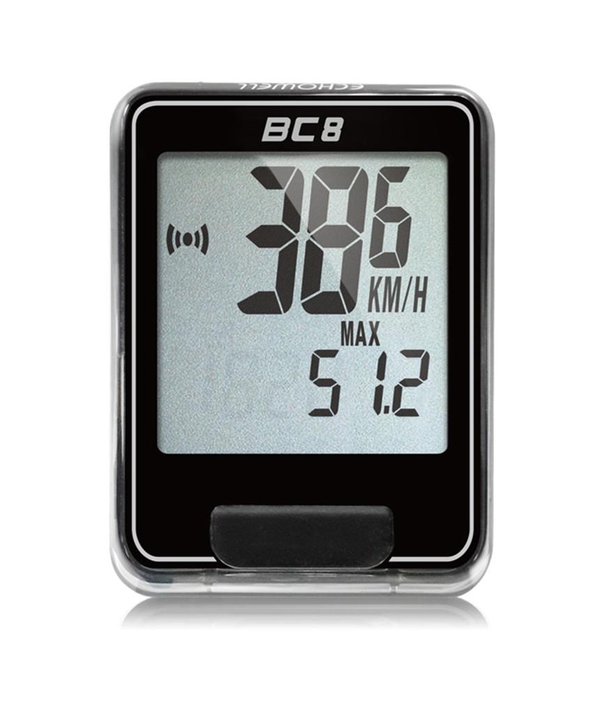 BC 8 黑 (白框)